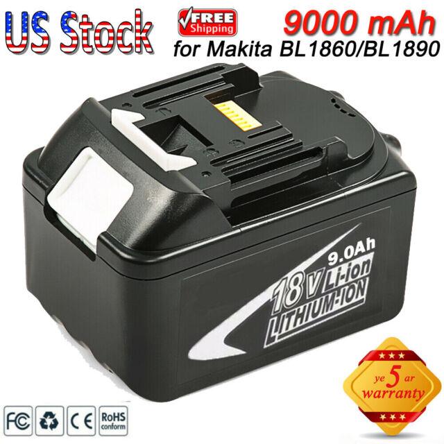 Für Makita Ersatzakku BL1830B BL1850 LXT400 Lithium Ion 18V 3,0Ah BL1840B BL1860