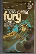 FURY ~ LANCER 75413 1972 1ST HENRY KUTTNER NEW INTRO C.L. MOORE (CO-AUTHOR WIFE)