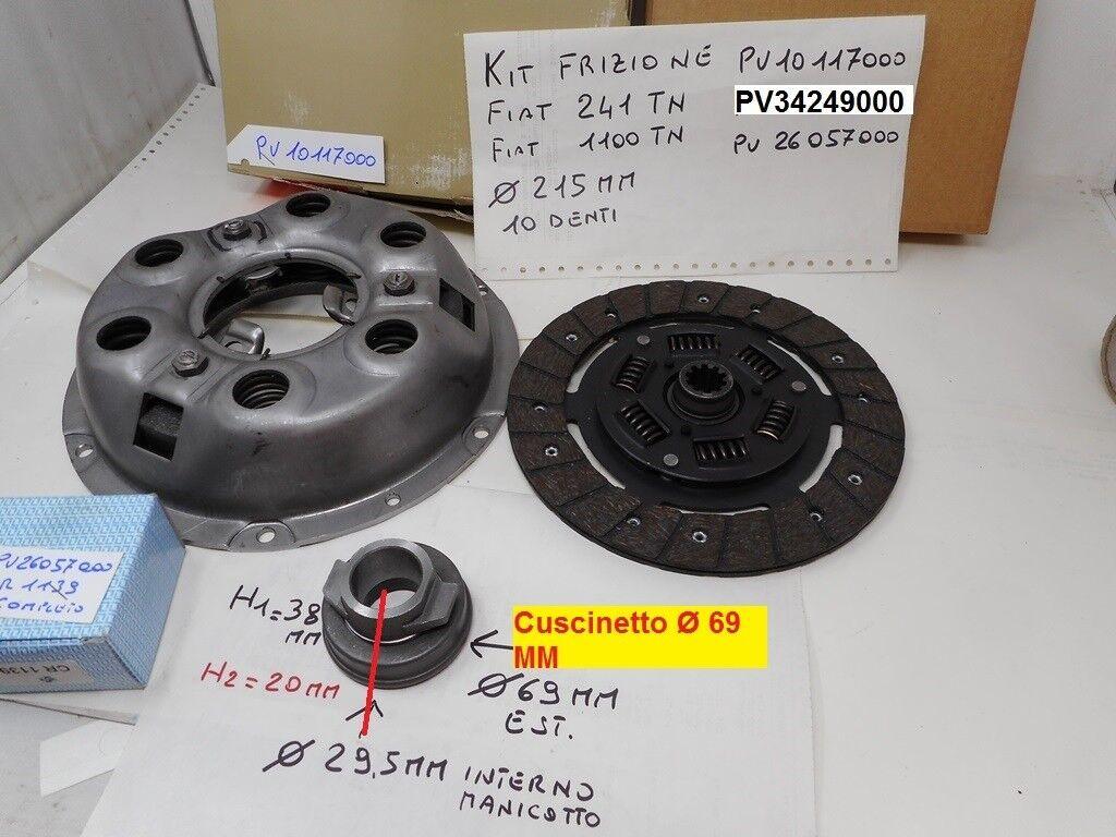 KIT FRIZIONE// CLUTCH SET FIAT 1100 A
