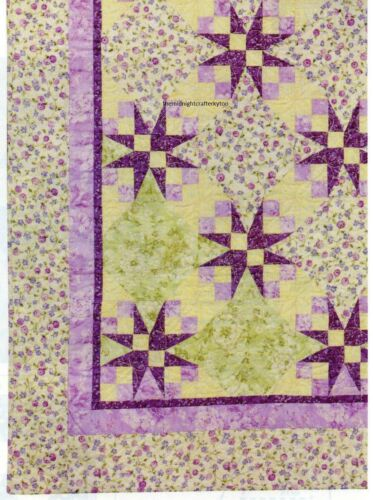 Sweet Bouquets Quilt Pattern Pieced WS