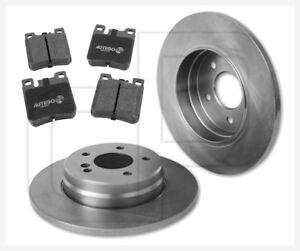 2-Bremsscheiben-und-4-Bremsbelaege-MERCEDES-EKlasse-Kombi-S210-hinten-290-mm