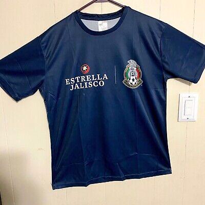 Estrella Jalisco Mexican Beer Soccer Shirt XL-Slim Fit New NIB