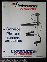 1995 Evinrude Johnson Service Manual - Trolling Motors Electric Outboards