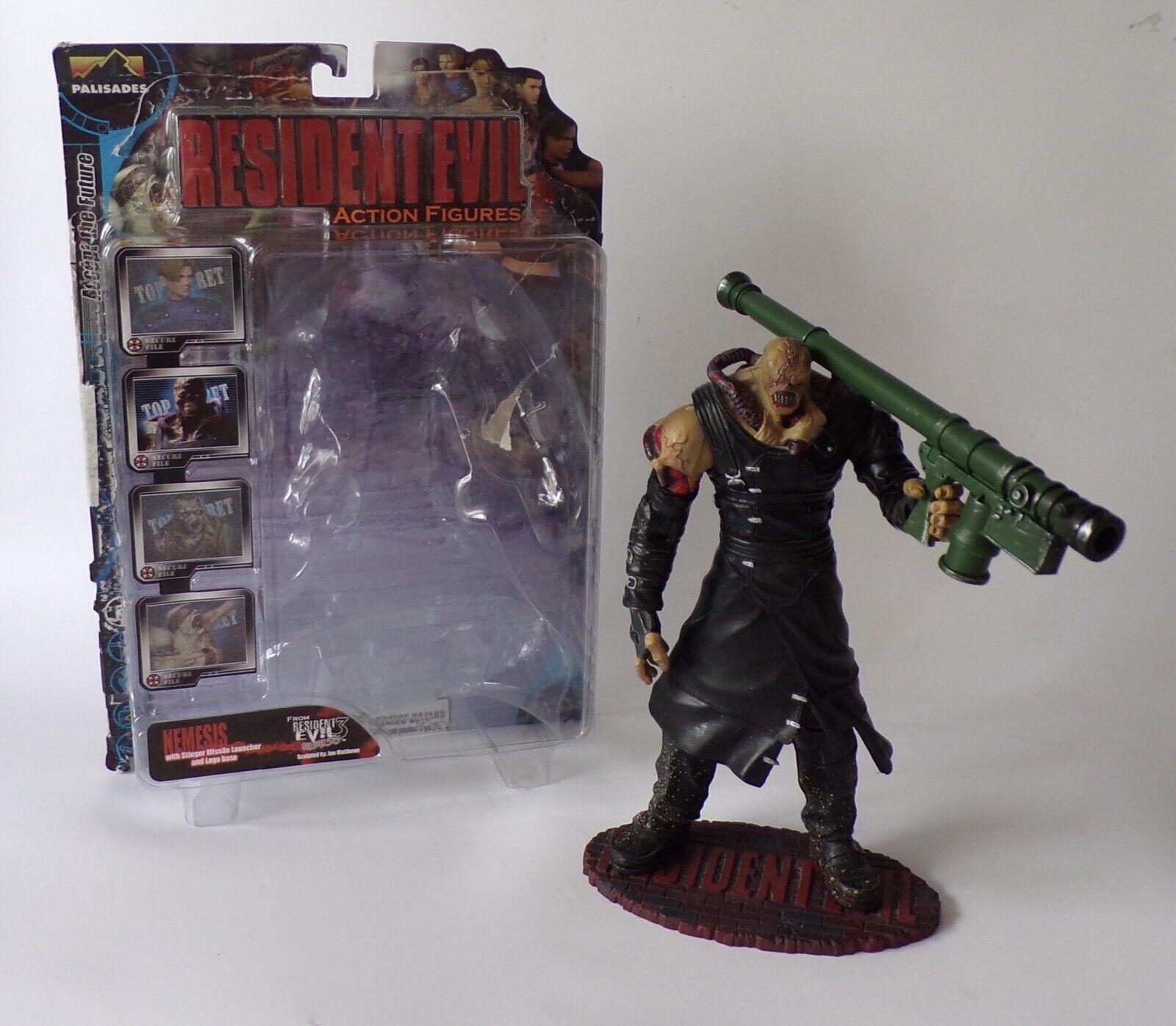 2001 Palisades Toys Resident Evil 3  Nemesis  Action Figure - Horror Video Game