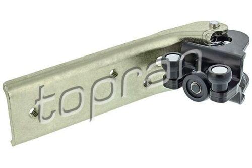 carro Renault Opel 208 461 Topran Guía de rodillos puerta corredera centro derecha