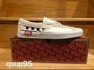Vans Slip-On Cap Checkerboard True White Black Deconstructed ... a7f108268