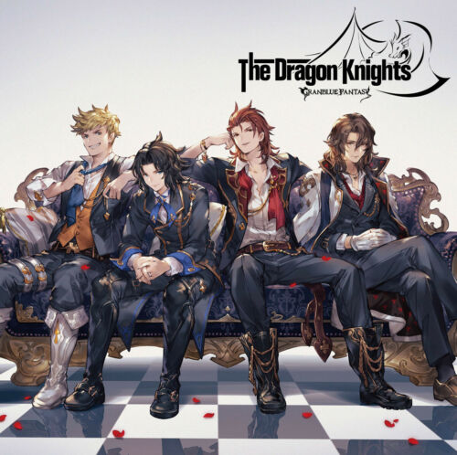 Serial Code GRANBLUE FANTASY Character Song 8 The Dragon Knight Limited Stickers