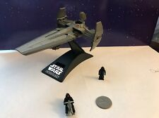 Micro Machines Star Wars Action Fleet Sith Infiltrator Ship & Darth Maul Speeder