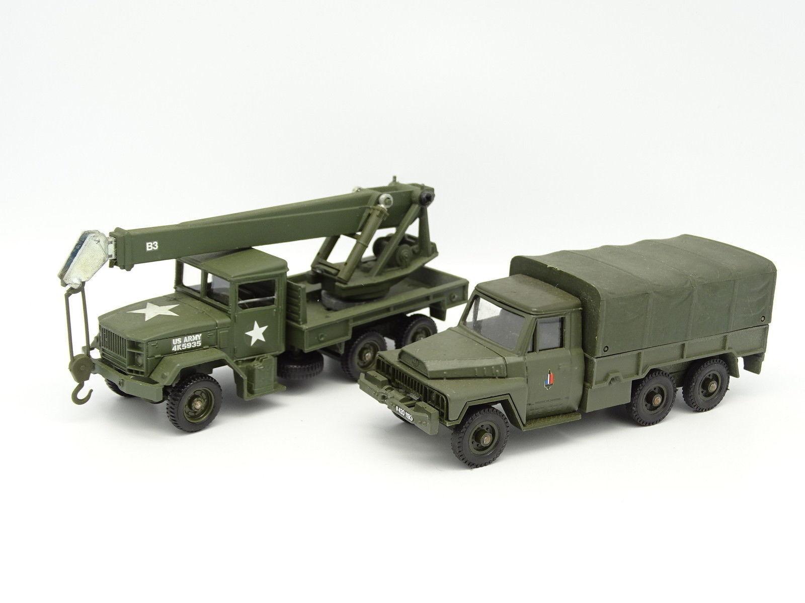 Solido Militär Militär Militär Armee SB 1 50 - 2er Satz   kaiser und acmat 290f10