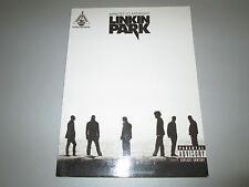 Linkin Park - Minutes To Midnight - Songbook Noten Guitar Tab Wake Given Up ua.