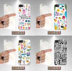 Cover-for-LG-printed-SEA-COLLAGE-STICKER-silicone-soft-clear