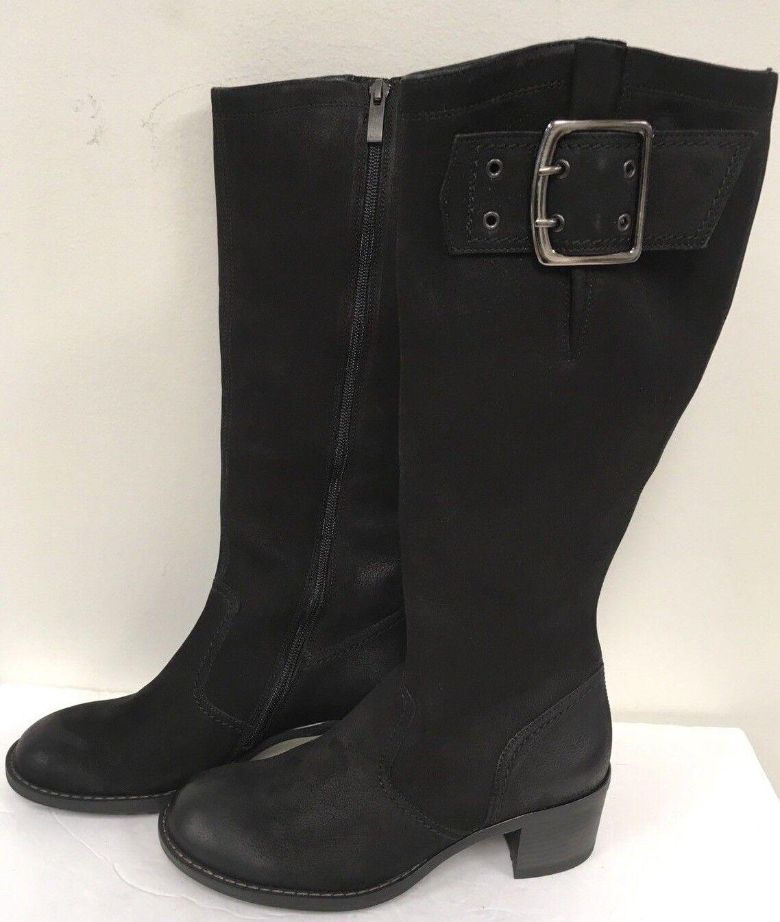 Paul verde para mujer botas de de de cuero negro optimista-tamaño 3 UK  suministro de productos de calidad