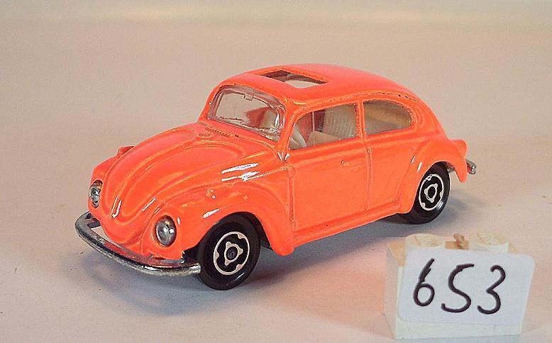 Majorette 1 60 nº 203 202 VW VOLKSWAGEN 1302 Berline Orange Néon  653