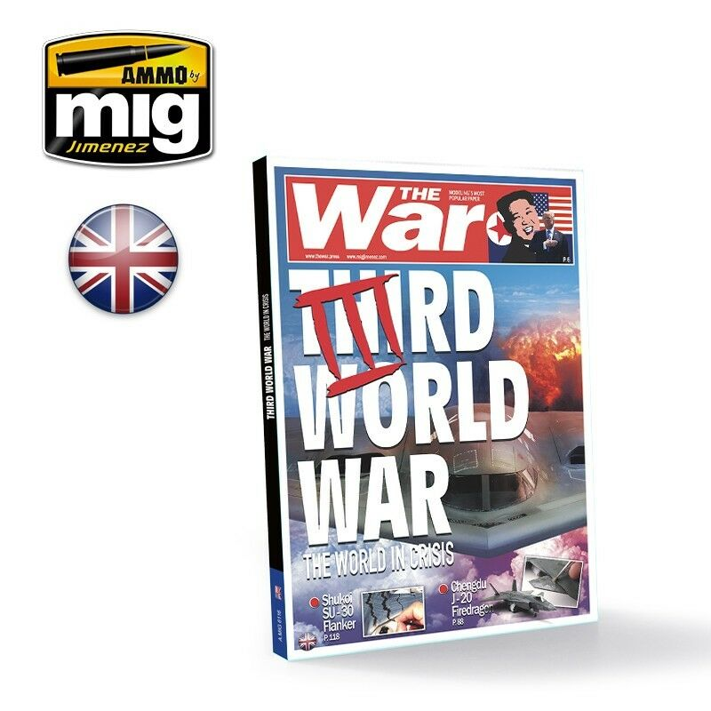 AMMO by Mig Jimenez Third World War, The World In Crisis (English, 200 pages)