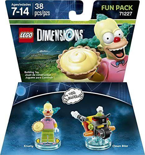 LEGO Simpsons KRUSTY LE CLOWN 71227