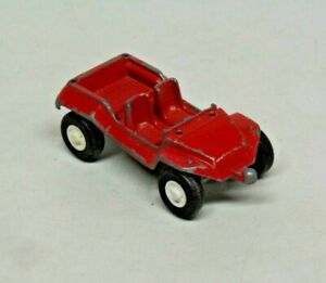 """Vintage Tootsie Toy Red Dune Buggy Made in U.S.A. Die Cast Toy Car 3 1/2"""" Long"""