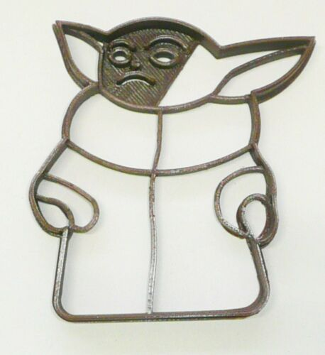 BABY YODA ADORABLE SPACE BABY CHILD POSE 2 STAR WARS COOKIE CUTTER USA PR3322