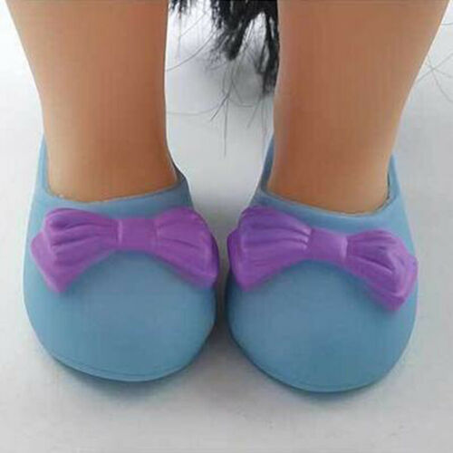 Fashion Shoes with Bow-knot for 16inch 40cm Sharon Doll Clothing Dress Up