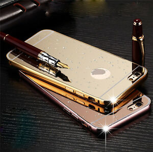 0ba72b9406 Luxury Aluminum Ultra-thin Mirror Metal Case Cover for iPhone 5/ 5s ...