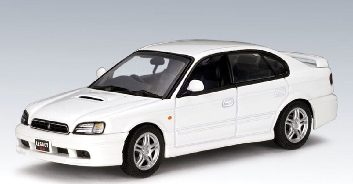 SUBARU LEGACY B4 1999 blanc AUTOART 58612 1 43 BERLINE WEISS BLANC blanc