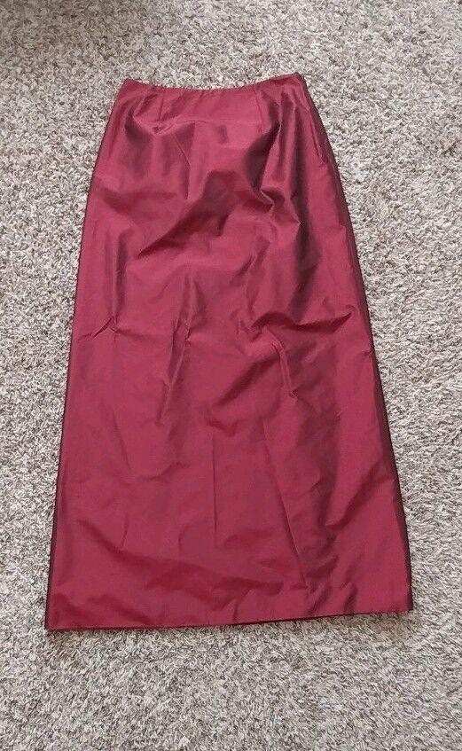 Chetta B Silk Maxi Skirt 6P