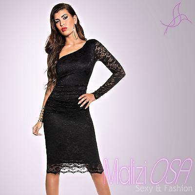 348f6a470662 Vestito da donna abito Monospalla vestitino cerimonia elegante party ballo