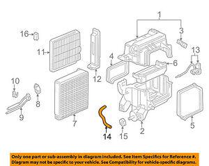 Details about HONDA OEM A/C AC Evaporator Heater-Drain Hose 80271S0XA00