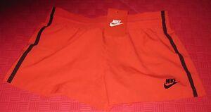 deportivos peque mujer Bonded Shorts Nwt 883212530158 647 Nike rojo 827184 Woven para o negro Zxq4w4