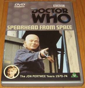 Doctor-Who-DVD-Spearhead-from-Space-Excellent-Condition