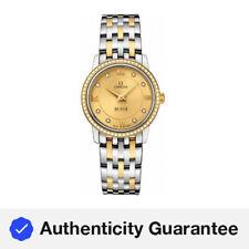Omega De Ville Prestige Quartz Champagne Dial Ladies Watches O42425276058001