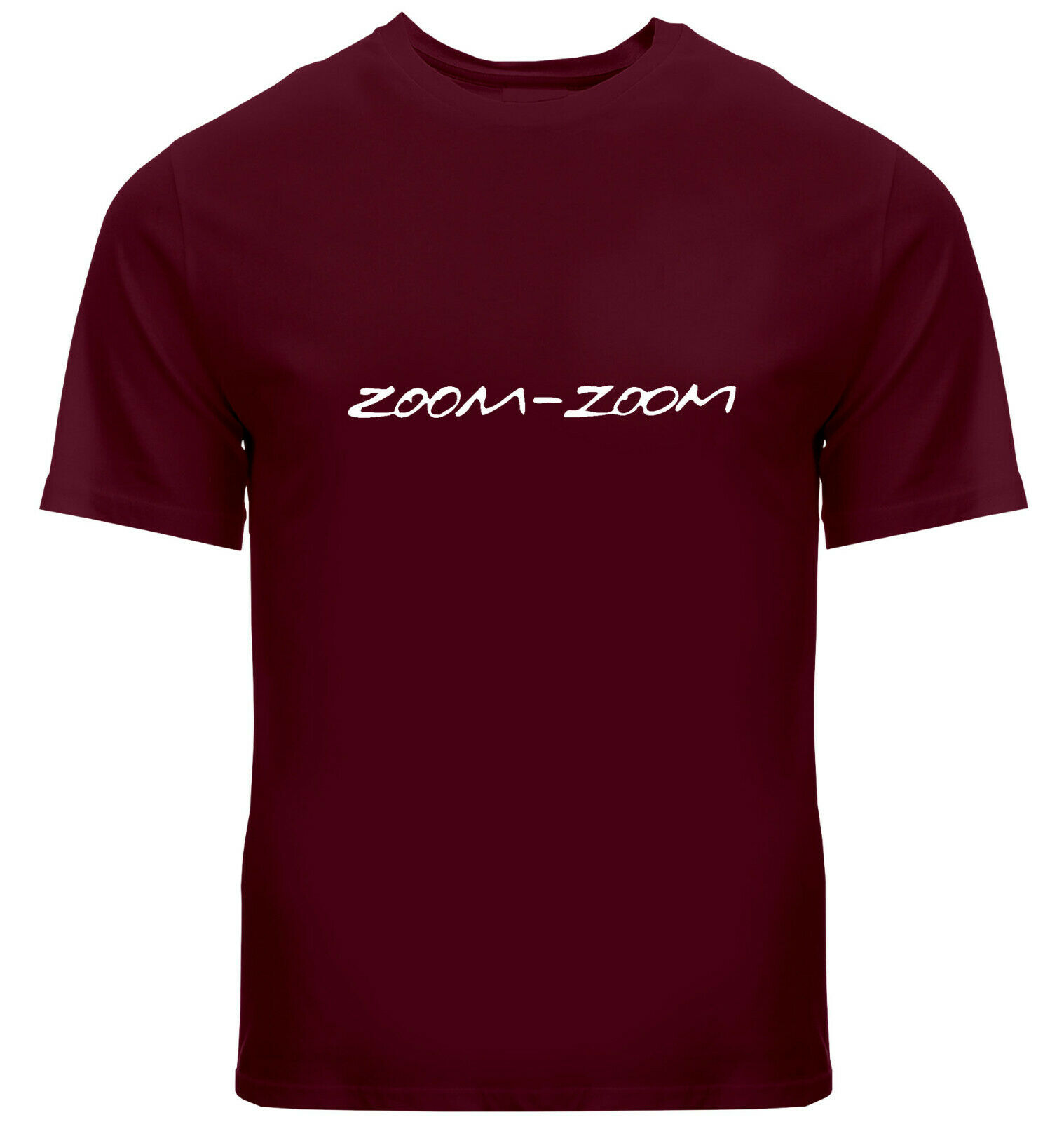 Zoom-Zoom Mazda Slogan Catchphrase 3 6 Mazda3 Mazda6 Car Mens Tee V-Neck T-Shirt