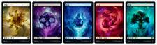 100 Chinese Theros Beyond Death Full Art Basic Lands Set (20 of each) Magic MTG