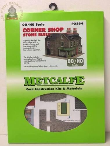 OO Gauge Metcalfe PO264  Corner Shop Stone