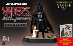 Gentle Giant Darth Vader's Little Princess Leia Marquette & Book Fathers Day 579