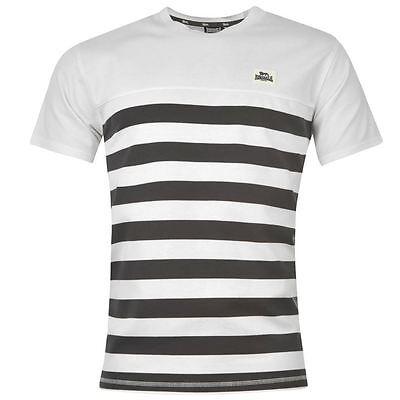 Di Larghe Vedute T-shirt Homme Lonsdale (du L Au Xxl) (taille Grand) Neuf