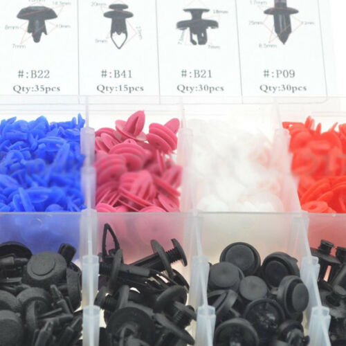 470PCS//set Car Push Retainer Pin Rivet Trim Clip Panel Universal Accessories Kit