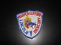 1940's 1950's 1960's Harper Clifford Lincoln Mercury Salesmans Jacket Patch