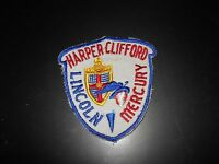 1940's 1950's 1960's Harper Clifford Lincoln Mercury Salesmans Jacket Patch