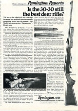 1975 Print Ad of Remington Reports Model 760 Gamemaster 30-30 Deer Rifle