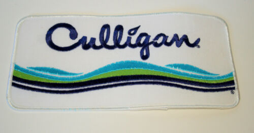 """Large 7+/"""" Vintage Culligan Water Softener filtration systems Patch New NOS 1980s"""