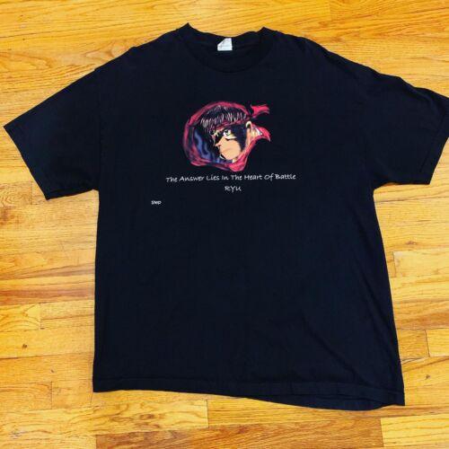 Street Fighter Capcom Ryu Ken White T Shirt Hommes Femme Unisexe