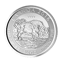 Lot-of-20-x-1-25-oz-2016-Canadian-Bison-Silver-Coin