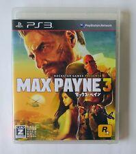Ps3 Max Payne 3 Cero Rating Z For Sale Online Ebay