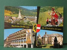 ältere AK St.Michael im Lungau Land Salzburg Samson mit Bürgergarde Österreich