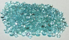 2.5mm Madagascar Blue Apatite Round Cut
