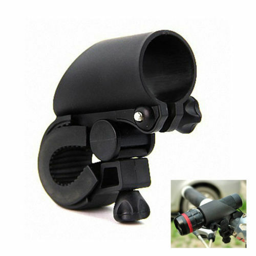 universal holder for cycling lights black
