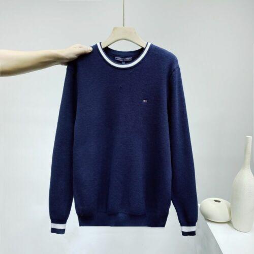 Tommy Hilfiger Herren Pullover Sweatshirt Rundhals M-XXL Herbst Und Winter