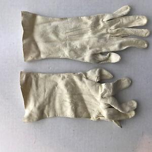 Ladies-White-English-Doeskin-Washable-Leather-Gloves-Tablecut-6-3-4