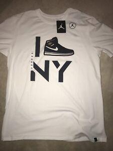 70189822ef3 Nike Air Jordan Derek Jeter Re2pect T Shirt White Men XL Extra Large ...