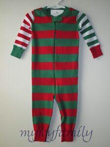 89c702dec HANNA ANDERSSON Baby Organic Zip Sleeper Mix Up Stripe Red Green 50 ...